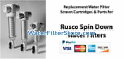 Rusco Spin Down Screen Water Filters