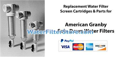 American Granby Spin Down Screen Water Filters