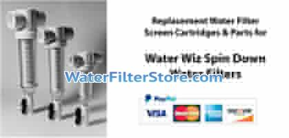 Water Whiz Spin Down Screen Filters