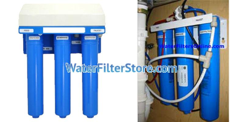 DuPure ® & Rayne ® 3 Stage RO Reverse Osmosis System with Q-5605-60 & Q5640-60 Replacement  Water Filters & TQ56SB-50-FC-60 Reverse Osmosis Membrane