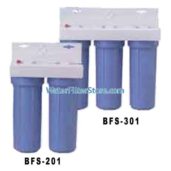 US Filter BFS-201 and BFS-301 Under Counter Drinking Water Filter Systems